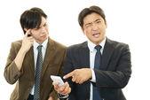 Salientou empresários asiáticos — Foto Stock