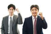 Joyful men — Stock Photo