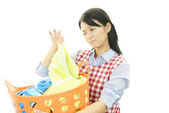 Dona de casa cansada — Fotografia Stock
