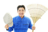 Janitorial cleaning service — Stock Photo