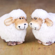 Two sheep — Stock Photo