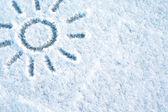 Fiocchi di neve — Foto Stock