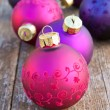 Christmas tree balls - Stockfoto