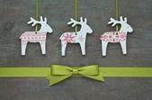Reindeer and loop — Stock Photo