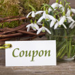 Voucher - Stock Photo