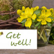 Get well — Stock Photo