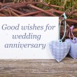 Wedding anniversary — Stock Photo #22422333