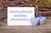 Wedding anniversary — Zdjęcie stockowe