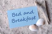 ベッド & ブレックファースト — ストック写真