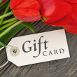 Gift card — Stock Photo #26261261