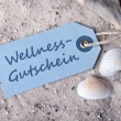 Stock Photo: Wellness voucher