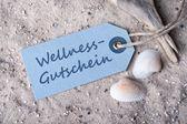 Wellness-bon — Stockfoto