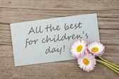 Dia das crianças — Foto Stock
