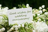 Aniversário de casamento — Foto Stock