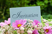 Invitation — Stock Photo