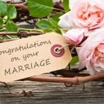 Wedding card — Stock Photo #35736977