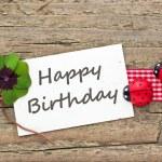 Happy birthday — Stock Photo #42784585