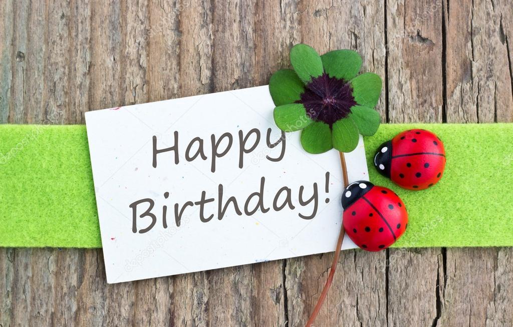 proficiat met je verjaardag — stockfoto © coramueller