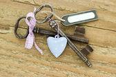 два ключа — Стоковое фото