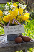 Easter card — Foto Stock