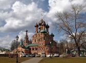Holy Trinity Church in Ostankino — Stock Photo