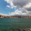 View of old port. Chania, Crete — Stockfoto
