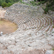 Ancient amphitheatre in Phaselis, Turkey - Stock Photo