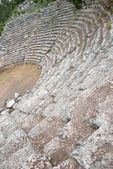 Ancient amphitheatre in Phaselis, Turkey — Stock Photo