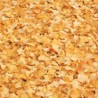Beautiful yellow fallen autumn leaves background - Stock Photo