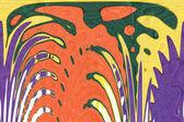 Arte astratta arcobaleno pattern sfondo — Foto Stock