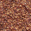 Texture of pine nut shell, used as a soil fertilizer - Stock Photo