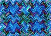 Cold art geometric pattern — Stock Photo