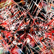 Art abstract graphic aggressive grunge background  — ストック写真