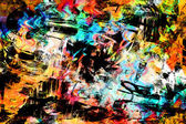 Art abstract colorful vibrant paint background — Stock Photo
