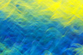 Photo art, bright Colorful streaks abstract background in yellow — Stock Photo