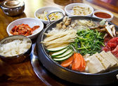 Korea food — Stock Photo