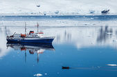 Antarctica ship — Stock Photo