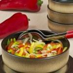 Pepper salad — Stock Photo #18368627