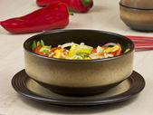 Biber salatası — Stok fotoğraf