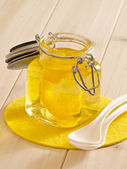 Yellow jello — Stock Photo