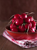 Radish in a bowl — Stock Photo