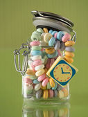 Candy necklace — Stock Photo