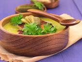 Zupa grochowa — Zdjęcie stockowe