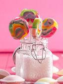 Kleurrijke lollies — Stockfoto
