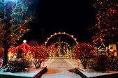 Village Christmas — Stock Photo