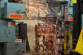 Press dismantling — Stock Photo