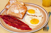 Egg breakfast — Foto Stock