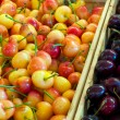 Stock Photo: Cherries for sale