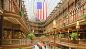 Cleveland Old Arcade — Stock Photo