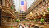 Cleveland Old Arcade — Stock Photo
